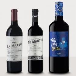 Pack de vino premium Black...