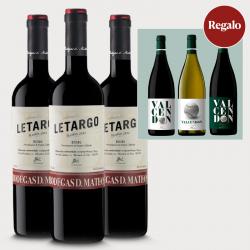 3 botellas Letargo Reserva...